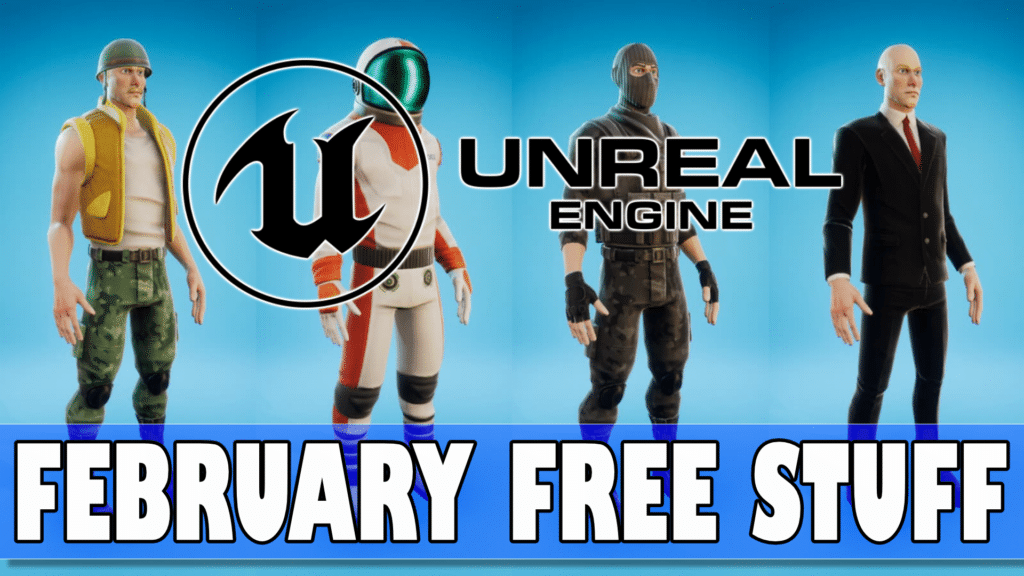 Unreal February Asset Marketplace Giveaway