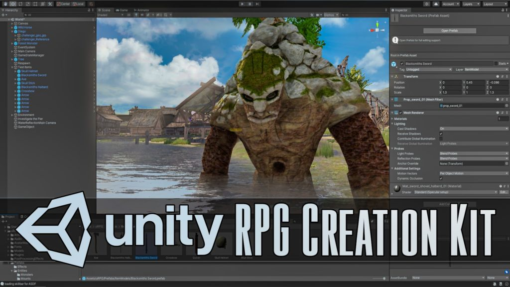 Unity uRPG Hands-ON Review RPG Creation Kit