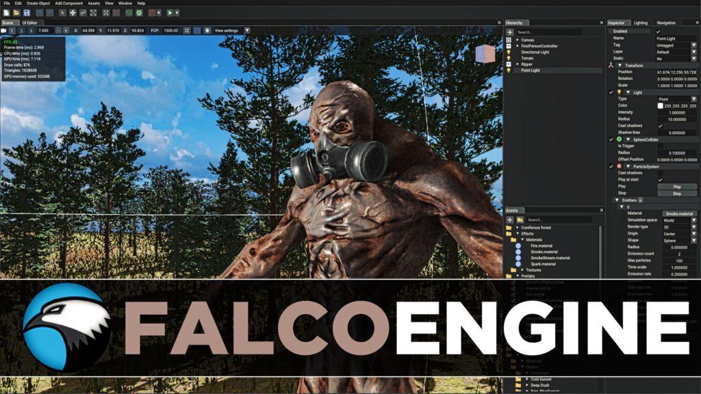 FalcoEngine Free 3D Game Engine Review