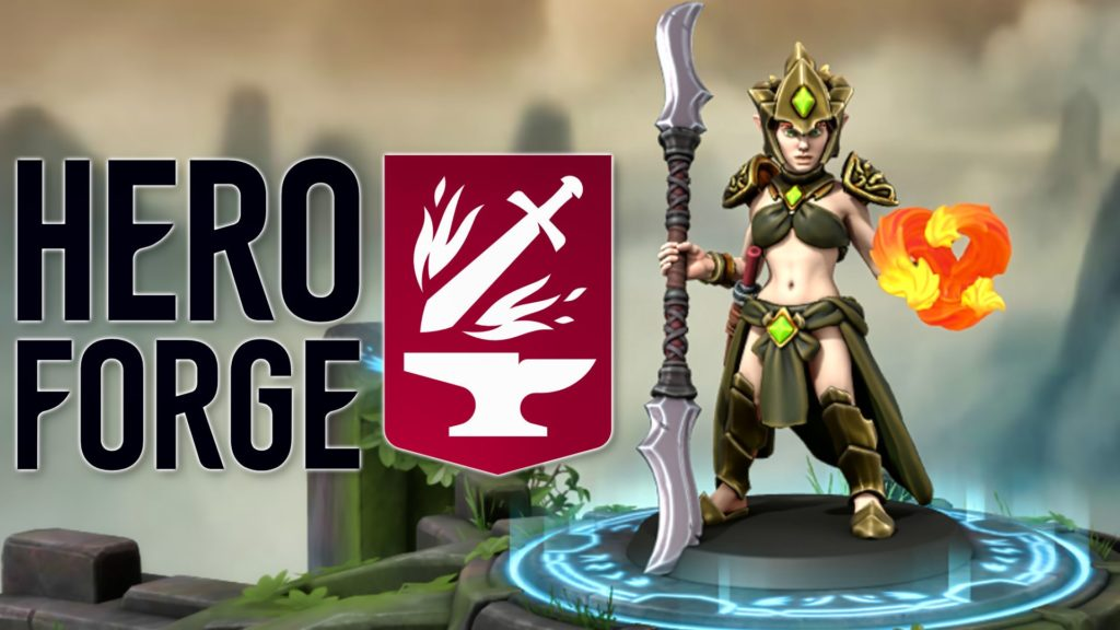 Hero Forge -- This could be an awesome game development tool