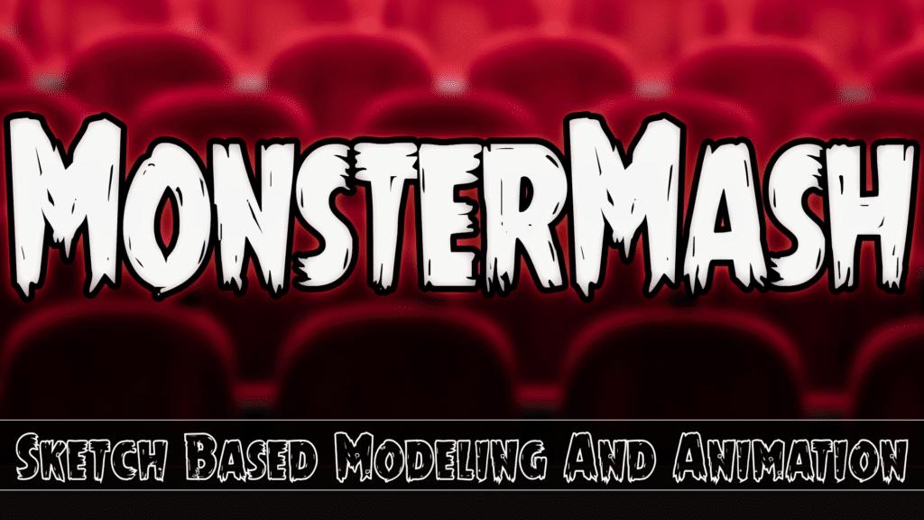 Monster Mash Sketch Based Animation
