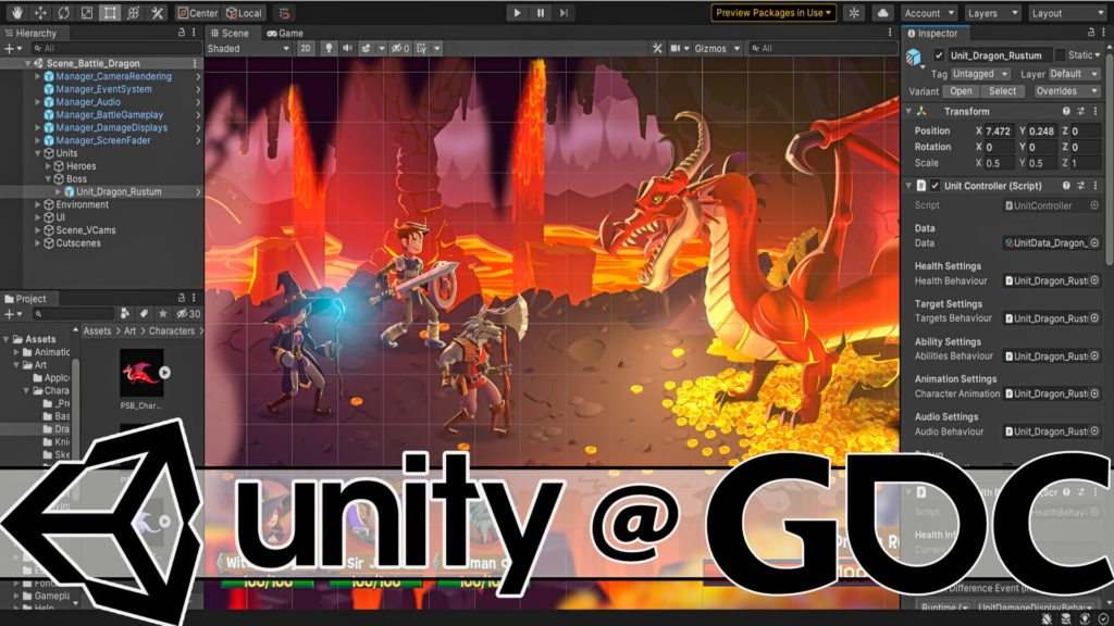 Unity at GDC 2021