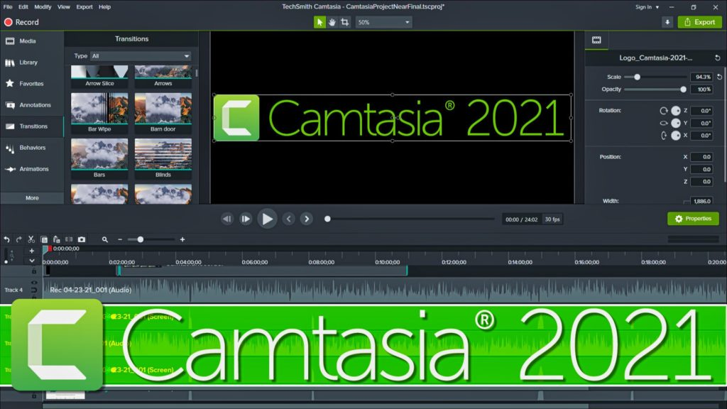 Camtasia 2021 Released