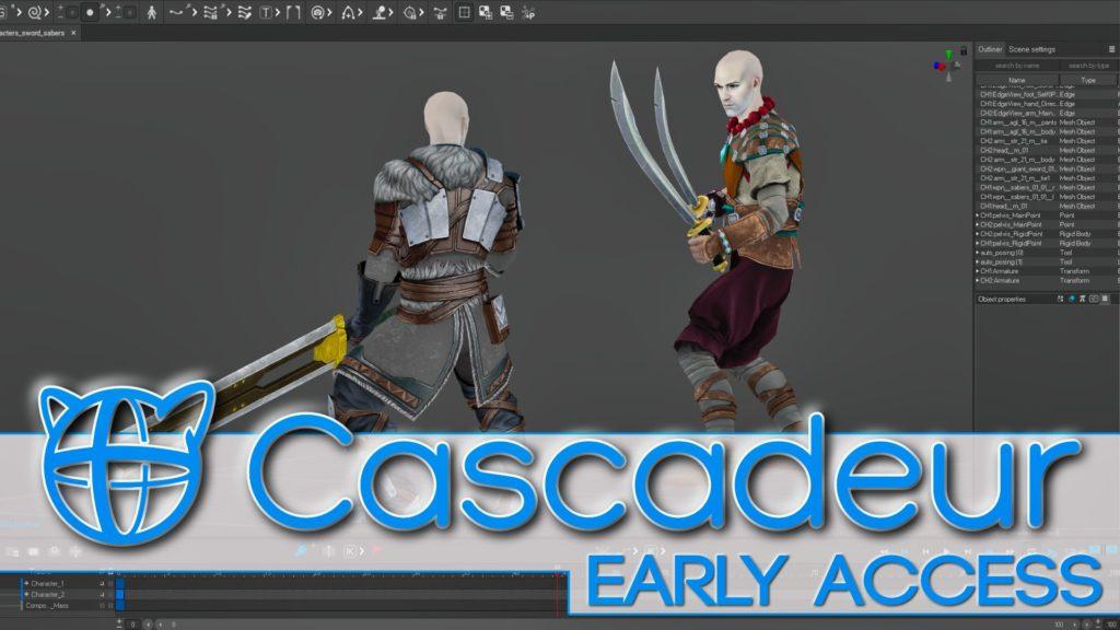 Cascadeur Early Access Release