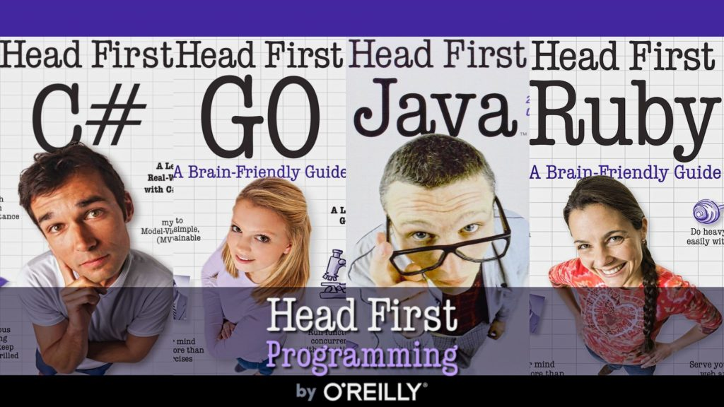 Head First Programming Books by O'Reilly Humble Bundle