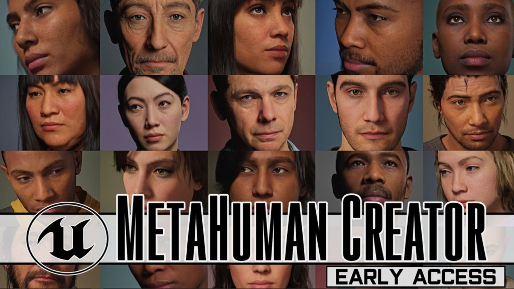 EPic Games MetaHuman Creator in Early Access