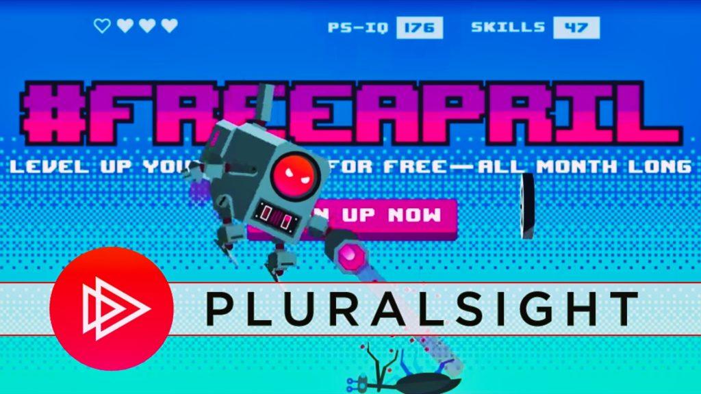 Pluralsight free april