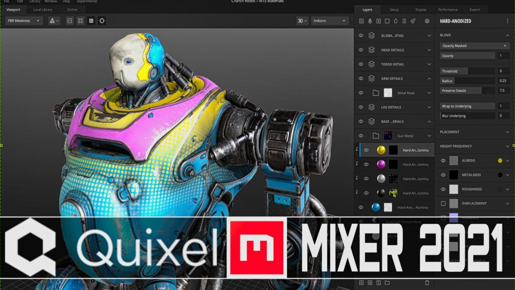 Quixel Mixer 2021 Released