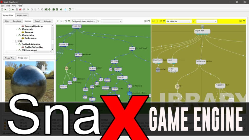 Snax Visual Game Engine