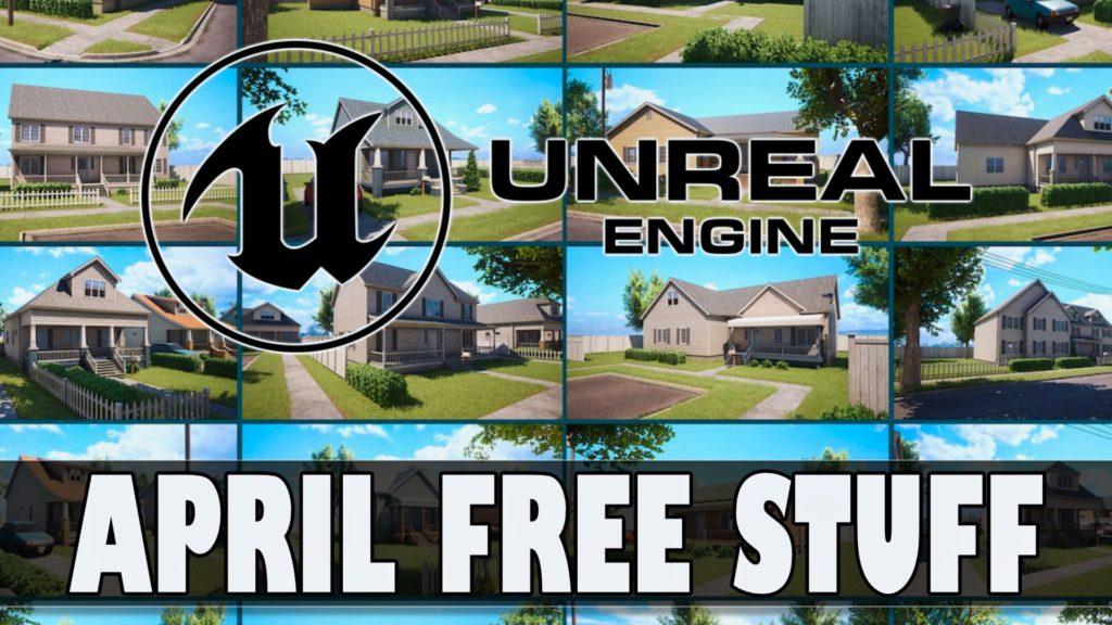 Unreal Engine April 2021 Marketplace Giveaway