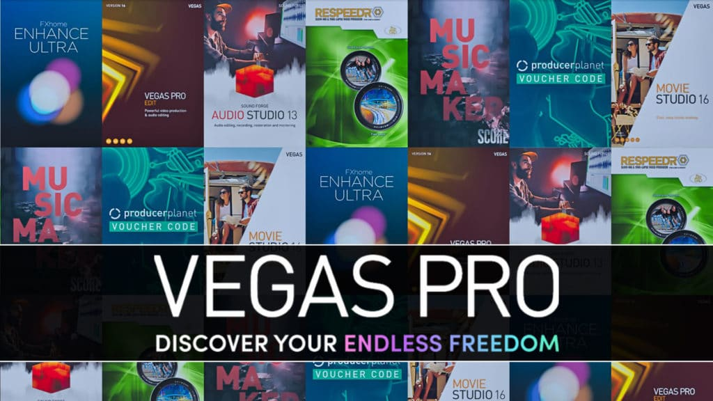 Vegas Pro Discover Your Endless Freedom Bundle