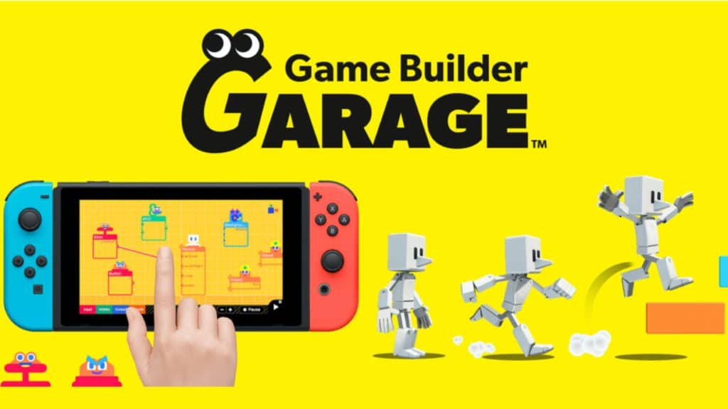 Nintendo Game Builder Garage Game Engine