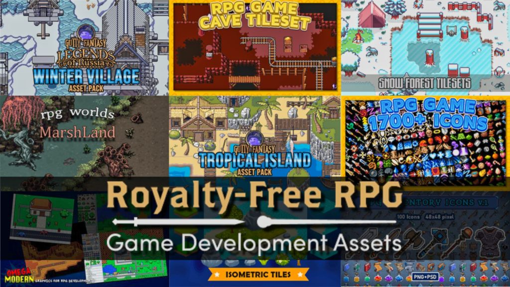 Royalty Free RPG Gamedev Asset Bundle