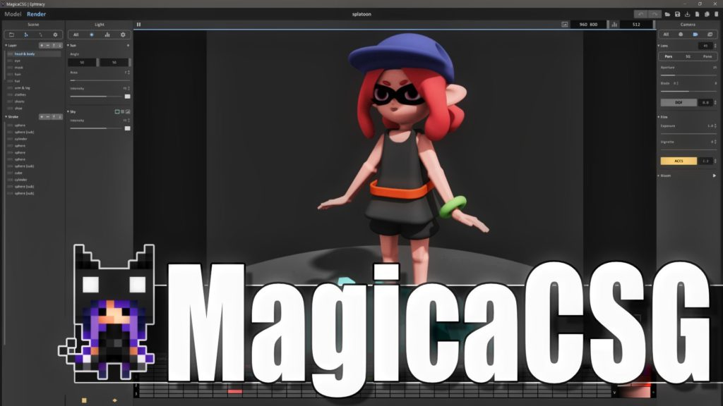 MagicaCSG a new 3D modeler from MagicaVoxel Creator