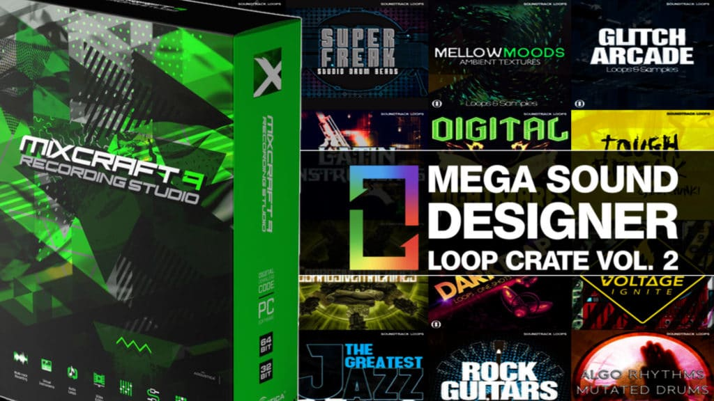 Mega Sound Designer Loop Crate Volume 2 bundle