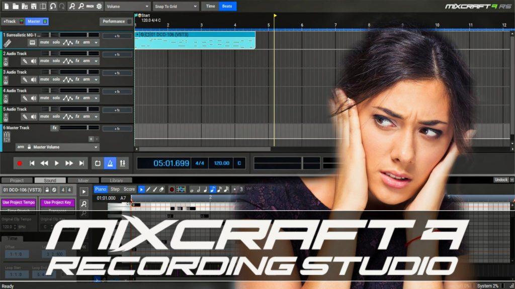 Mixcraft Recording Studio 9 Tutorial
