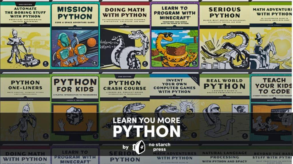 Humble Learn You Some More Python Bundle