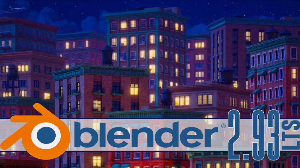 Blender 2.93 LTS Released