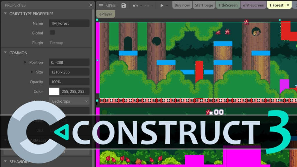 Construct 3 Hands-On Review