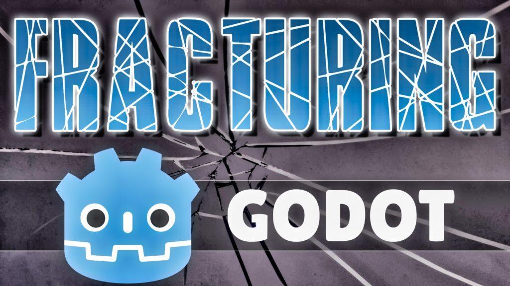 Fracture Godot 2D polygon library open source GDScript