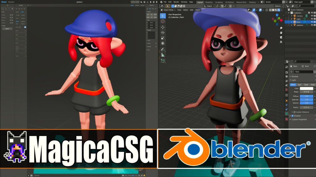 MagicaCSG to Blender Export Tutorial