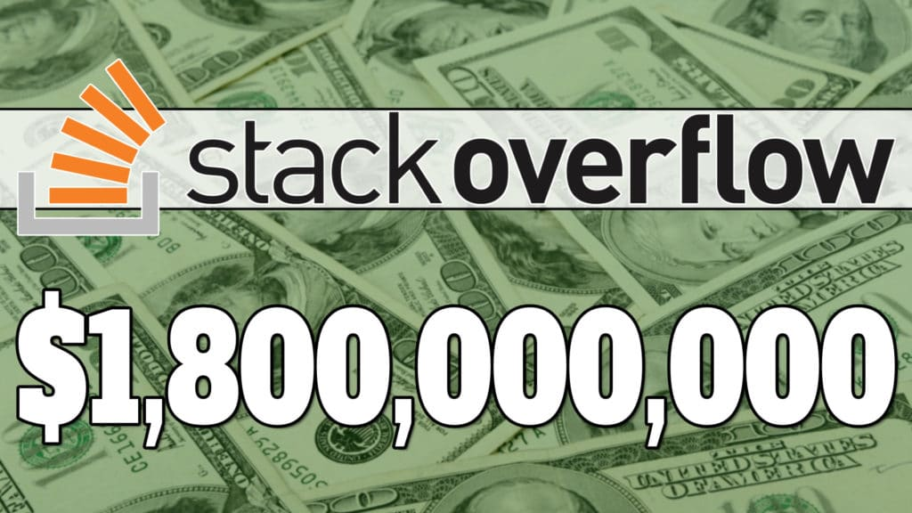 Stack Overflow acquired by Prosus for 1.8B