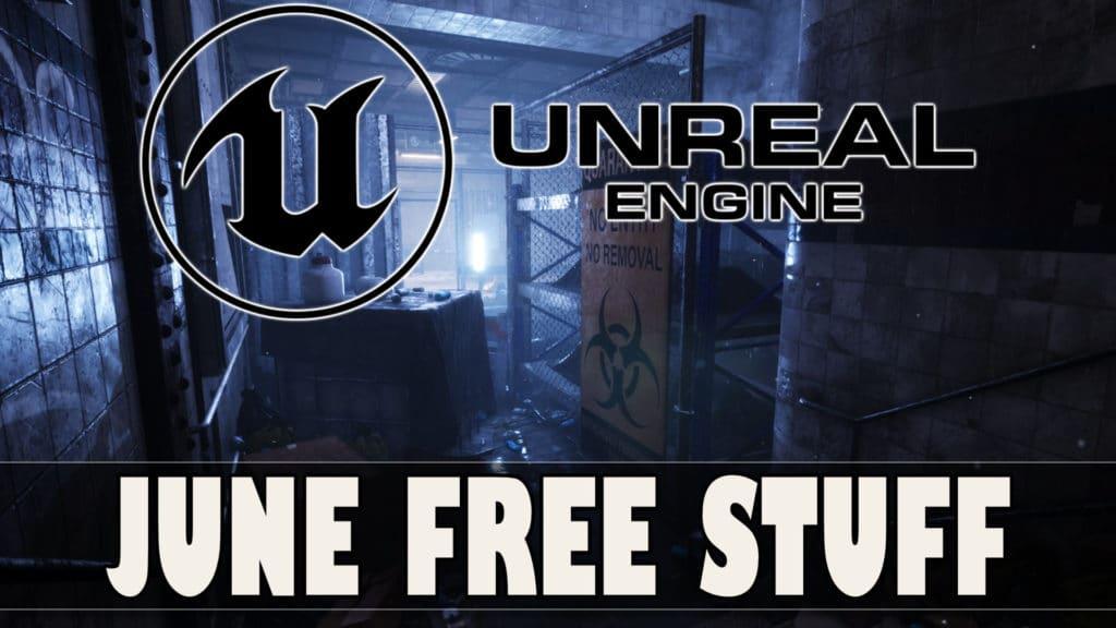 Unreal Engine June 2021 Asset Giveaway