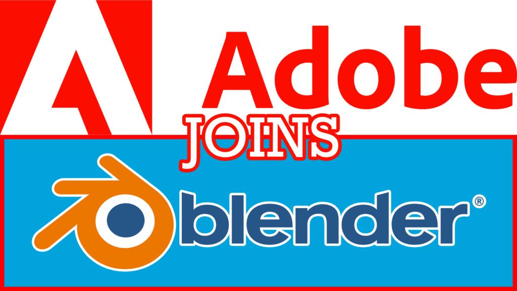 Adobe Join the Blender Development Fund