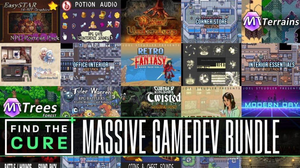Find the Cure Massive GameDev Asset Humble Bundle