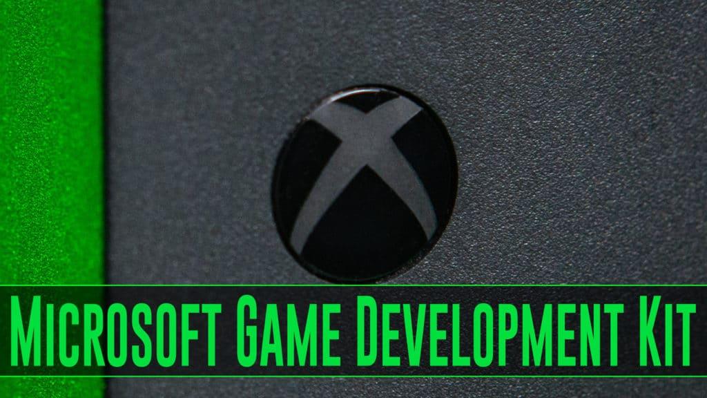 Microsoft Game Development Kit Released on GitHub