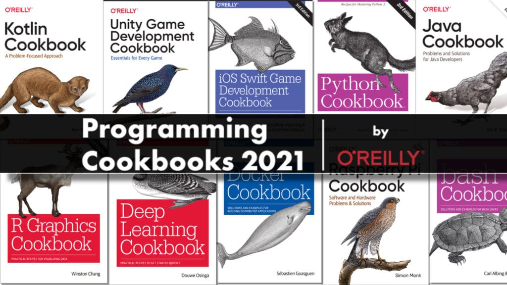 Programmer Cookbook 2021 by O'REilly Humble Bundle