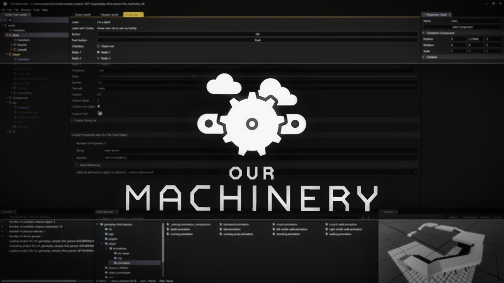 The Machinery by Our Machinery Released