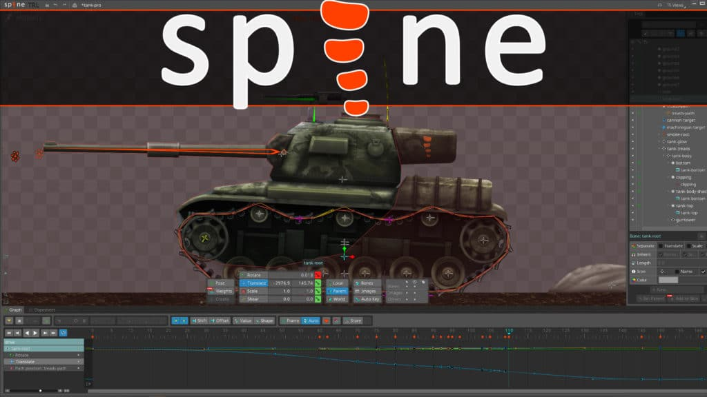 Spine 4 Animation Software Released 2D