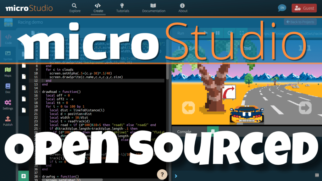 microStudio Open Sourced