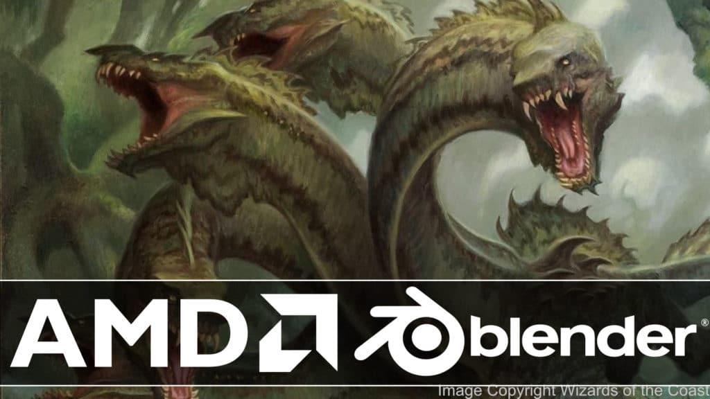 AMD Release Hydra USD renderer for Blender
