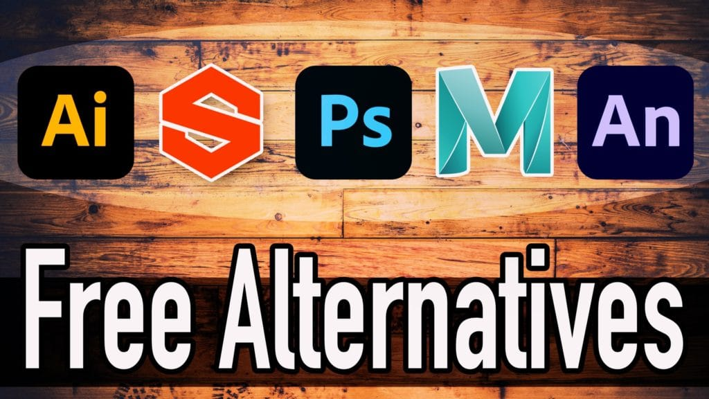Free Alternatives to popular adobe and autodesk graphics applications