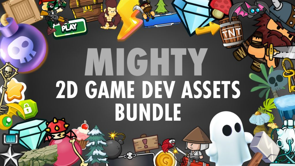 Mighty 2D Game Dev Assets Bundle on Fanatical