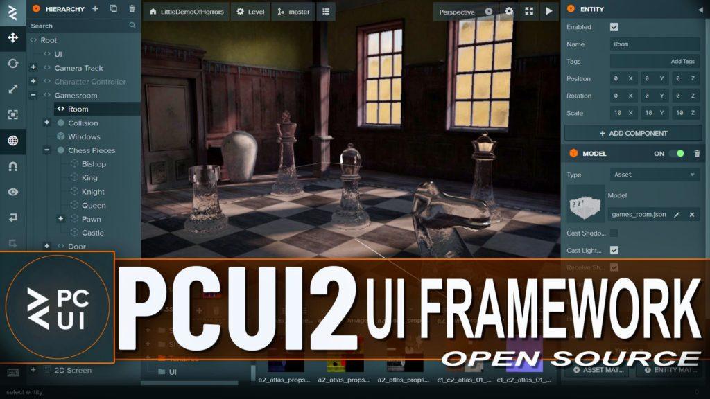 PCUI PlayCanvas User Interface Framework 2 Released