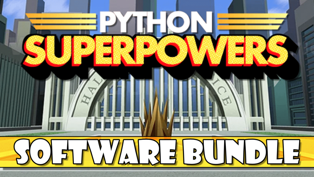 Python Superpowers Software on Humble PyCharm