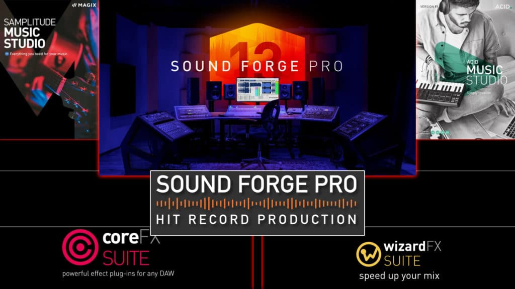 Sound Forge Pro Hit Record Production Bundle on Humble