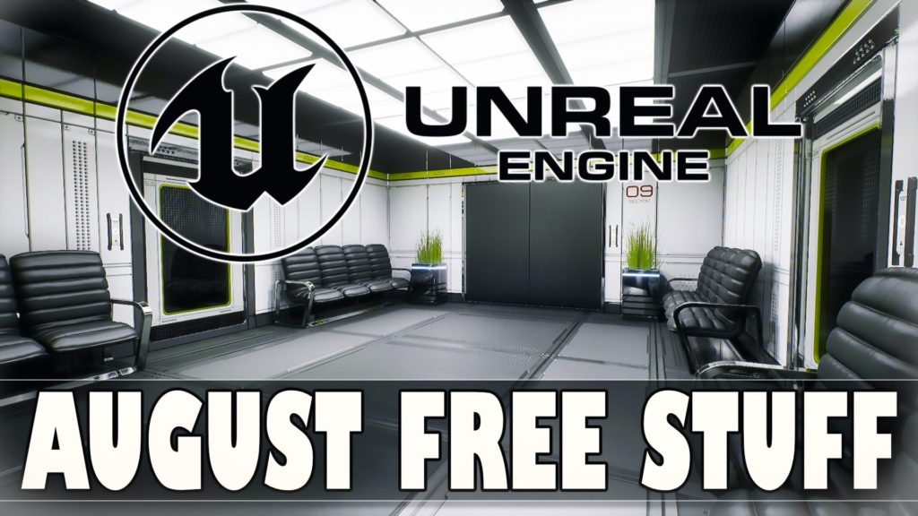 Unreal Engine August 2021 Asset Giveaway Marketplace
