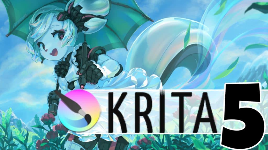 Krita 5 Beta Released
