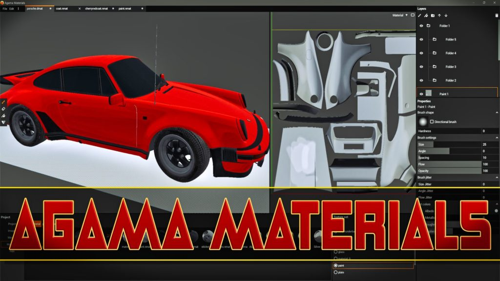 Agama Materials Free Substance Painter Designer Alternative
