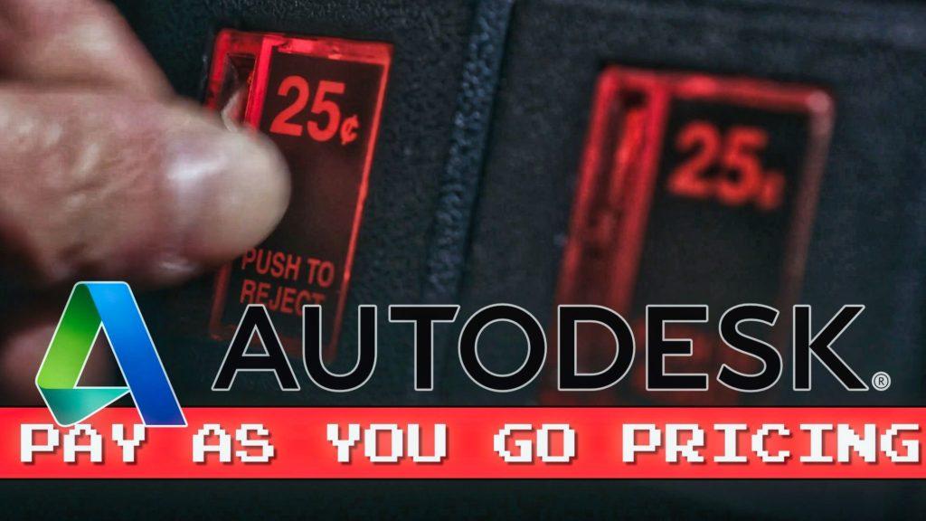 Autodesk FLEX Pay as you Go PAYG pricing