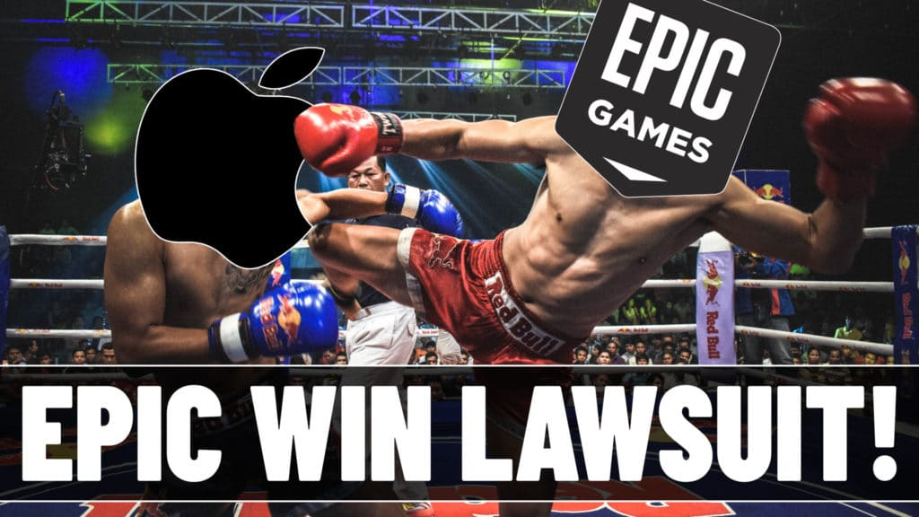 Unreal Epic Games win lawsuit against Apple over IAP