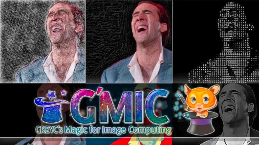 G'MIC Open Source Image Manipulation