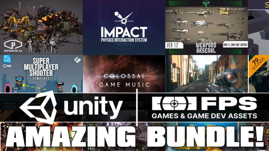 Unity FPS Games & GameDev Assets Humble Bundle