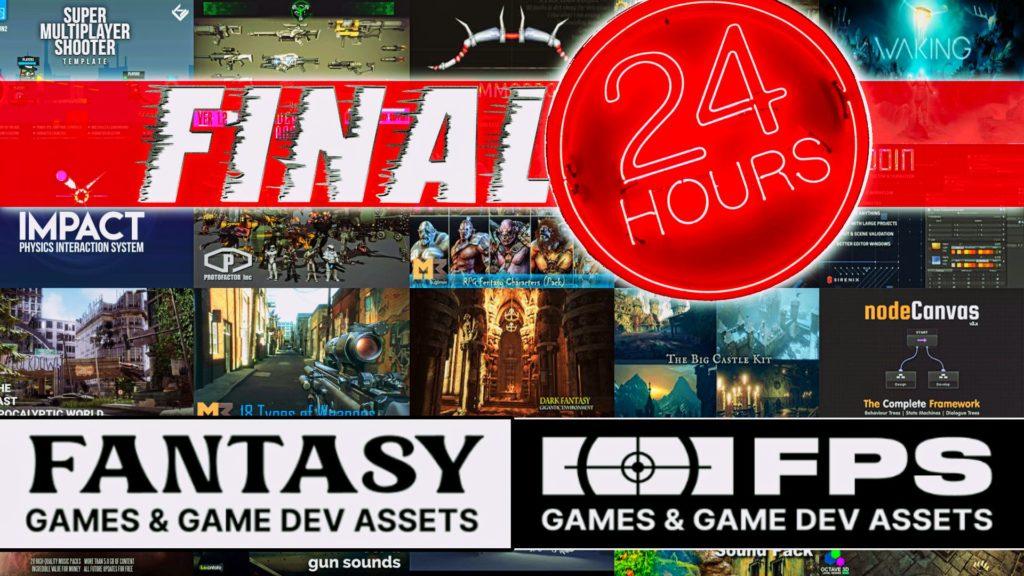 Unity FPS Fantasy Humble Bundle Final 24 Hour Review