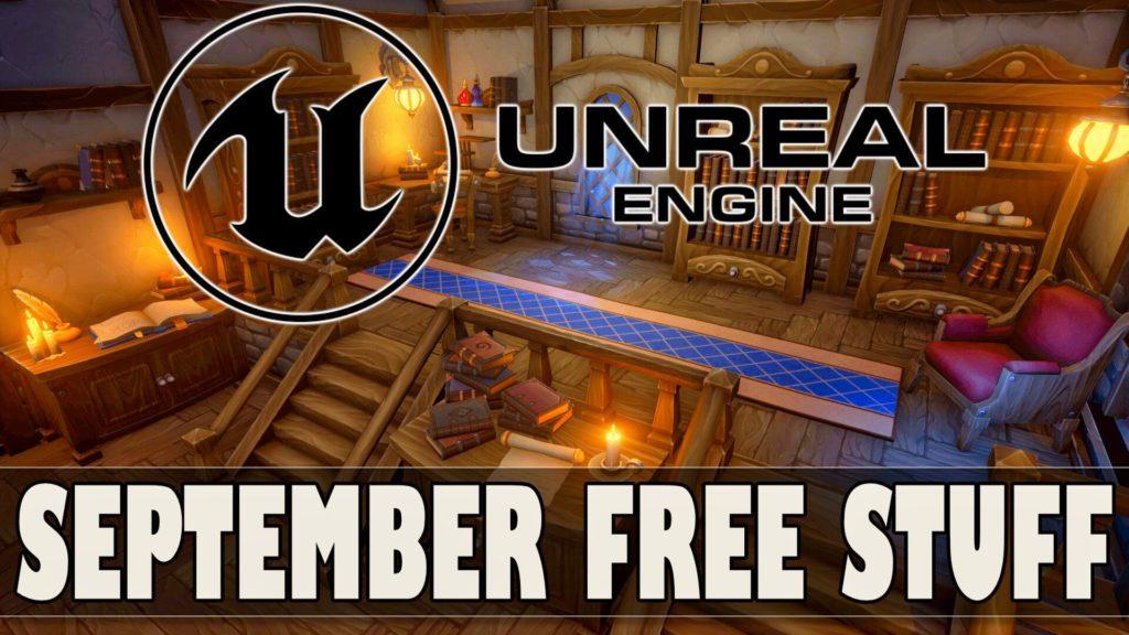 Unreal Engine Free Marketplace Assets Giveaway September 2021