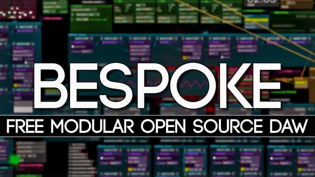Bespoke OPen source modular DAW Review